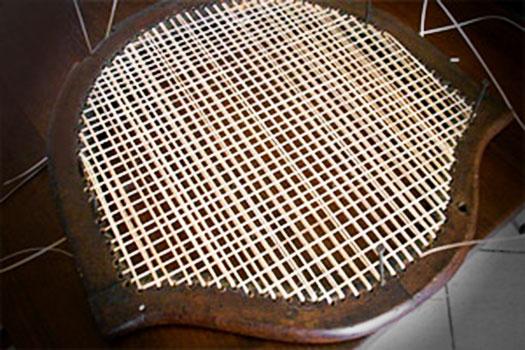 L 39 impagliatore si impagliano sedie con carice rafia for Sedie acciaio e paglia di vienna